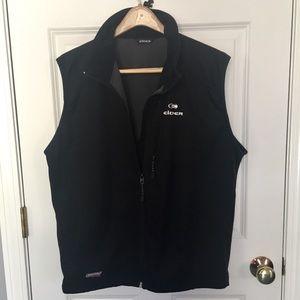 Eider Windfender black soft shell vest